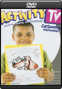 Activity TV : Cartooning Intermediate [3471]