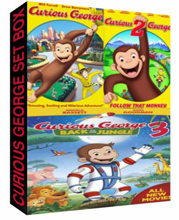 Curious George The Complete Set Box [ C-42,C-558,C-1198 ]