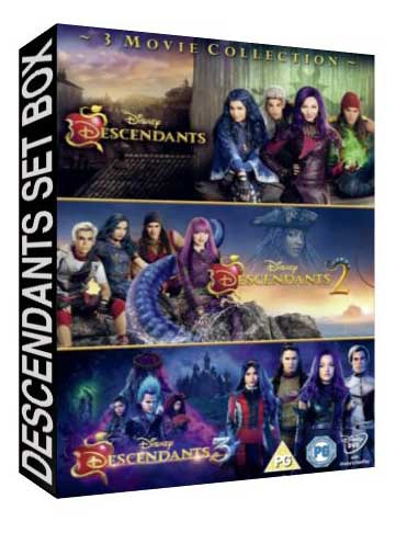 Descendants Set Box [ 6437, 7310 , 8339 ]