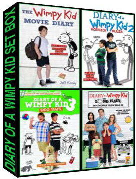 Diary of a Wimpy Kid Complete Set Box [3738,4416,5183,7370]