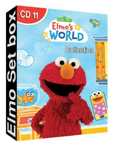 Elmo World Set Box