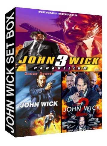 John Wick Set Box [ 6158,7262,8269 ]