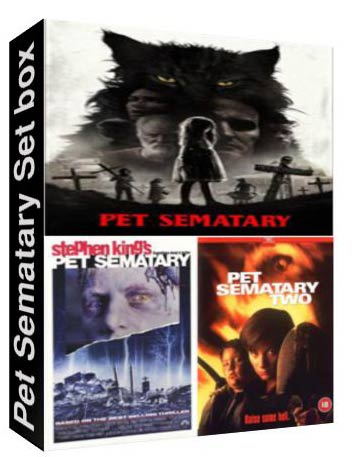 Pet Sematary Set Box [ 1886,1843,8149 ]