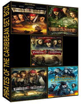 Pirates of the caribbean complete set box[142,320,863,4535,7385]