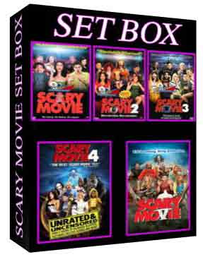 Scary Movie setbox [1807,1808,1809,316,5463]