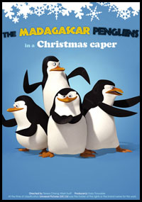The Madagascar Penguins In A Christmas Caper [C-71]