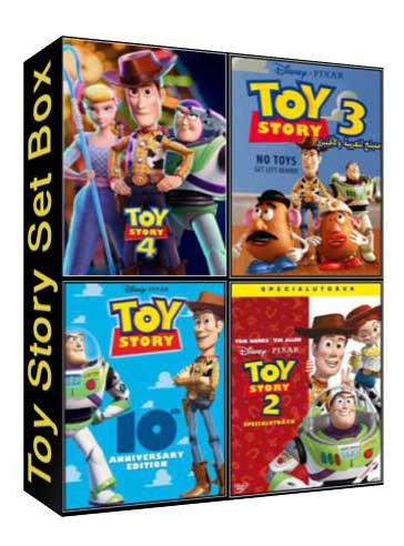 Toy Story - the complete setbox [C-88,C-203,C-630,C-1395 ]