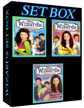 Wizards Of Waverly Place Complete Set Box [3456 ,3457, 3458]