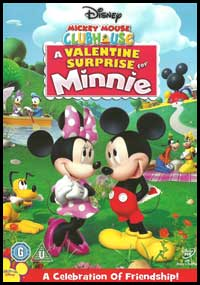 MickeyMouse Club House - A Valintine Surprise For Minie [C-467]