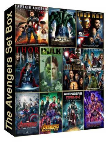 The Avengers Set Box