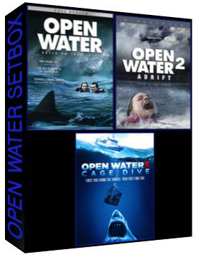 Open Water The Complete Set Box [ 829,810,7346 ]