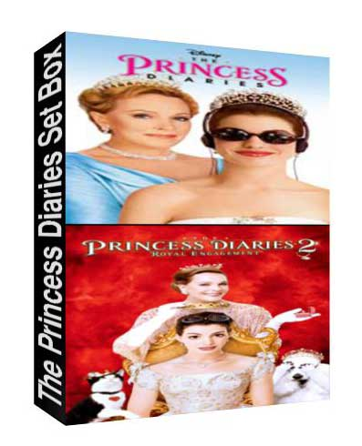 The Princess Diaries Set box [ 8141,2867 ]