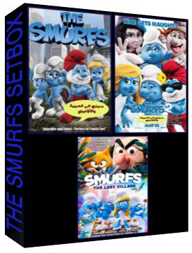 The Smurfs The Complete Set Box [4633,5731,C-1297]