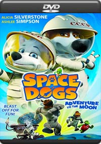 Space Dogs Adventure to the Moon [C-1267]