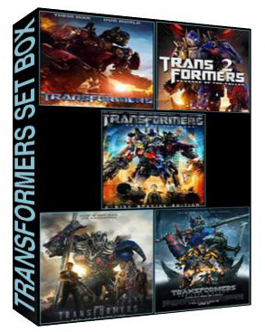Transformers The Complete Setbox [779,3059,4621,5991,7394]